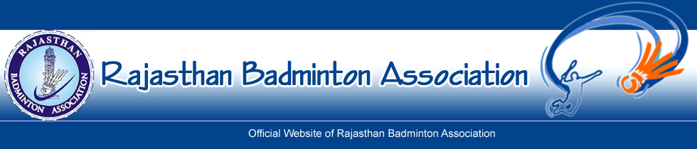 Official Website of Rajasthan Badminton Association
